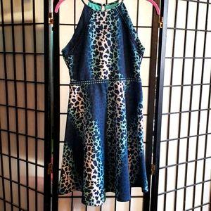Speechless SZ16 Dressy Dress Animal Print